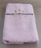 Gerards Champagner Selection Handtuch rosé