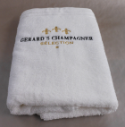 Gerards Champagner Selection Duschtuch Weiss